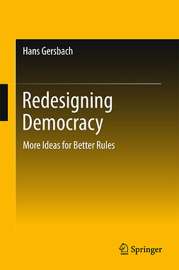 Gersbach, Hans - Redesigning Democracy, ebook