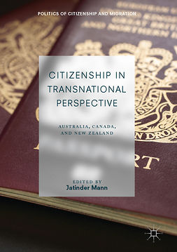 Mann, Jatinder - Citizenship in Transnational Perspective, e-bok