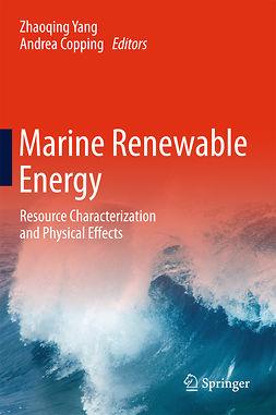 Copping, Andrea - Marine Renewable Energy, ebook