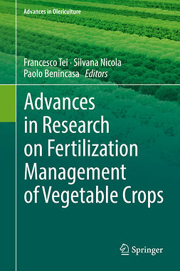 Benincasa, Paolo - Advances in Research on Fertilization Management of Vegetable Crops, ebook