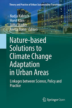 Bonn, Aletta - Nature-Based Solutions to Climate Change Adaptation in Urban Areas, ebook