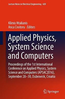 Croitoru, Anca - Applied Physics, System Science and Computers, e-bok