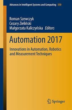 Kaliczyńska, Małgorzata - Automation 2017, e-bok