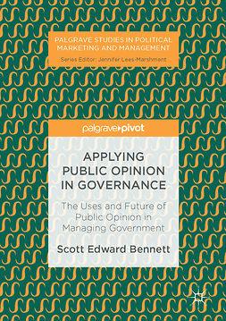 Bennett, Scott Edward - Applying Public Opinion in Governance, ebook