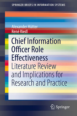 Hütter, Alexander - Chief Information Officer Role Effectiveness, ebook
