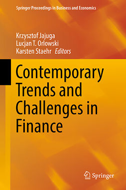 Jajuga, Krzysztof - Contemporary Trends and Challenges in Finance, e-kirja