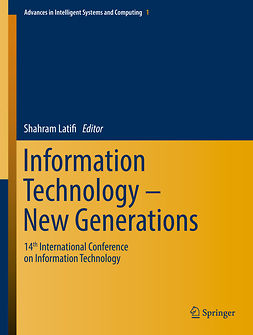 Latifi, Shahram - Information Technology - New Generations, e-bok