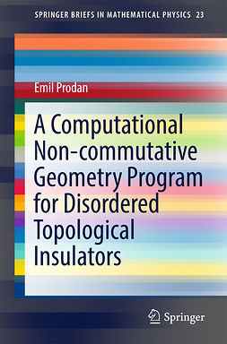 Prodan, Emil - A Computational Non-commutative Geometry Program for Disordered Topological Insulators, e-bok