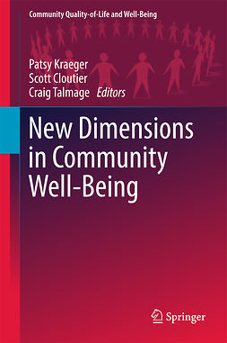 Cloutier, Scott - New Dimensions in Community Well-Being, e-bok