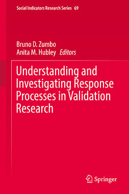 Hubley, Anita M. - Understanding and Investigating Response Processes in Validation Research, e-bok