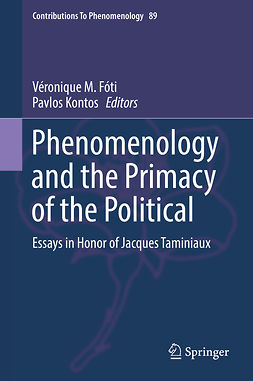 Fóti, Véronique M. - Phenomenology and the Primacy of the Political, ebook
