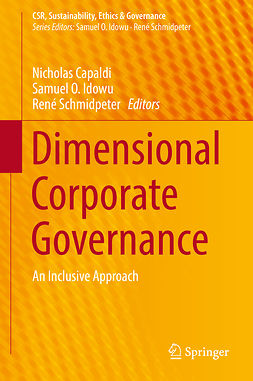 Capaldi, Nicholas - Dimensional Corporate Governance, e-bok