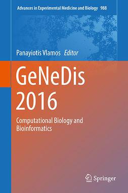 Vlamos, Panayiotis - GeNeDis 2016, ebook