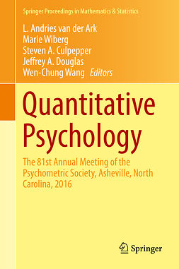 Ark, L. Andries van der - Quantitative Psychology, ebook