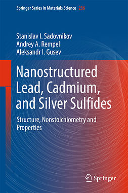 Gusev, Aleksandr I. - Nanostructured Lead, Cadmium, and Silver Sulfides, ebook