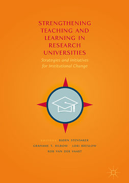 Bilbow, Grahame T. - Strengthening Teaching and Learning in Research Universities, e-bok