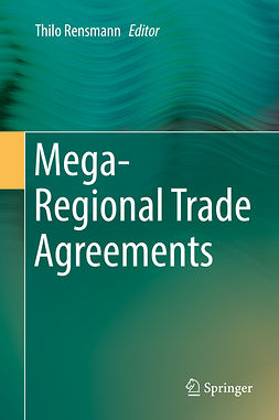Rensmann, Thilo - Mega-Regional Trade Agreements, ebook
