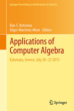 Kotsireas, Ilias S. - Applications of Computer Algebra, e-kirja