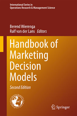 Lans, Ralf van der - Handbook of Marketing Decision Models, ebook