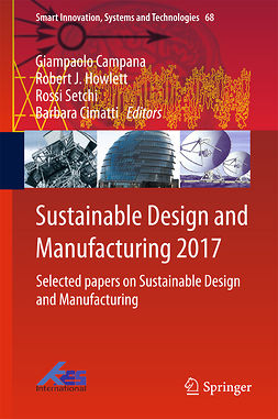 Campana, Giampaolo - Sustainable Design and Manufacturing 2017, ebook