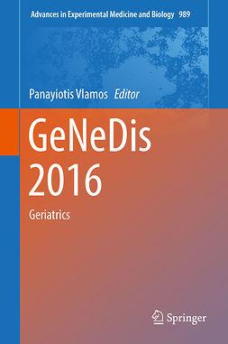 Vlamos, Panayiotis - GeNeDis 2016, e-bok