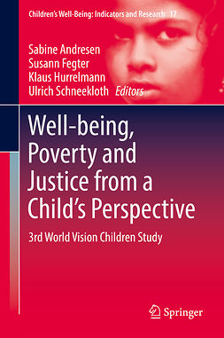 Andresen, Sabine - Well-being, Poverty and Justice from a Child's Perspective, ebook