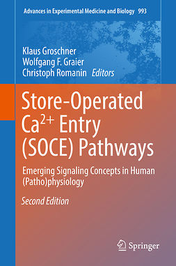 Graier, Wolfgang F. - Store-Operated Ca²⁺ Entry (SOCE) Pathways, ebook