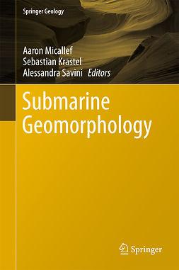 Krastel, Sebastian - Submarine Geomorphology, e-bok