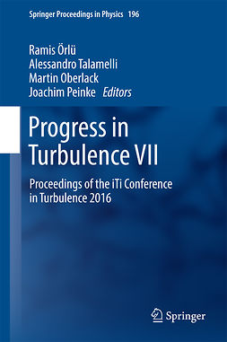 Oberlack, Martin - Progress in Turbulence VII, ebook