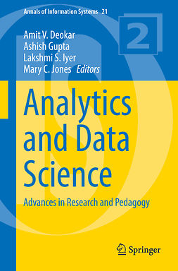 Deokar, Amit V. - Analytics and Data Science, e-bok