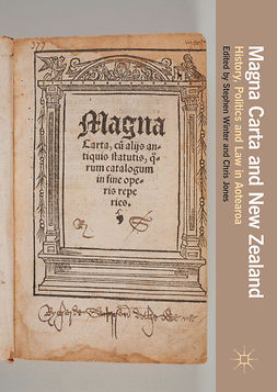 Jones, Chris - Magna Carta and New Zealand, ebook