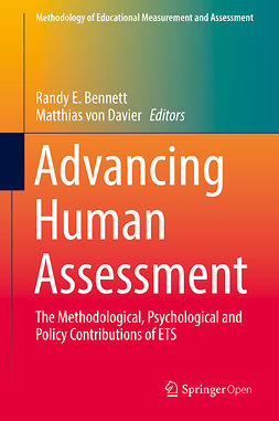 Bennett, Randy E. - Advancing Human Assessment, e-kirja