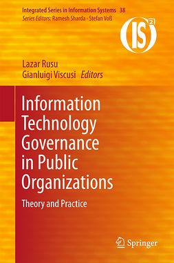 Rusu, Lazar - Information Technology Governance in Public Organizations, ebook