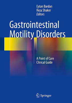 Bardan, Eytan - Gastrointestinal Motility Disorders, ebook