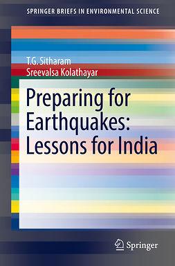 Kolathayar, Sreevalsa - Preparing for Earthquakes: Lessons for India, ebook
