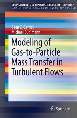 Bühlmann, Michael - Modeling of Gas-to-Particle Mass Transfer in Turbulent Flows, ebook