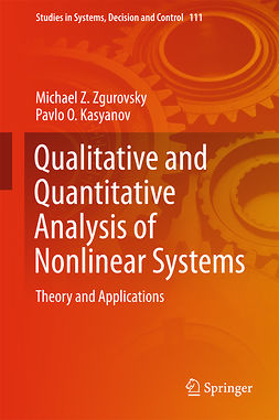 Kasyanov, Pavlo O. - Qualitative and Quantitative Analysis of Nonlinear Systems, e-bok