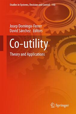 Domingo-Ferrer, Josep - Co-utility, ebook