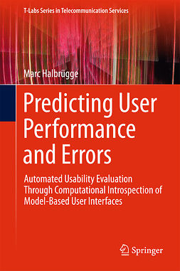 Halbrügge, Marc - Predicting User Performance and Errors, ebook
