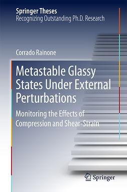 Rainone, Corrado - Metastable Glassy States Under External Perturbations, ebook