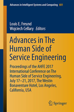 Cellary, Wojciech - Advances in The Human Side of Service Engineering, e-kirja