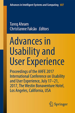 Ahram, Tareq - Advances in Usability and User Experience, ebook