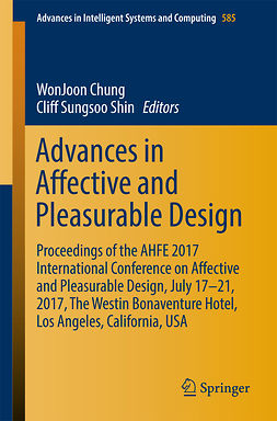 Chung, WonJoon - Advances in Affective and Pleasurable Design, ebook