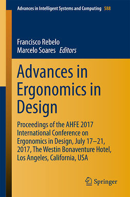 Rebelo, Francisco - Advances in Ergonomics in Design, e-bok