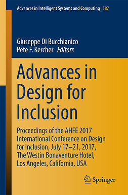 Bucchianico, Giuseppe Di - Advances in Design for Inclusion, ebook