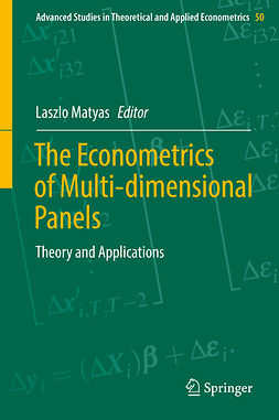 Matyas, Laszlo - The Econometrics of Multi-dimensional Panels, ebook