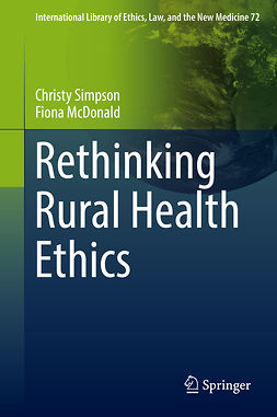 McDonald, Fiona - Rethinking Rural Health Ethics, ebook