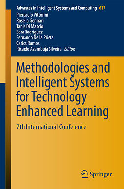 Gennari, Rosella - Methodologies and Intelligent Systems for Technology Enhanced Learning, ebook