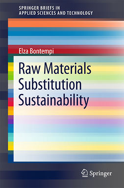 Bontempi, Elza - Raw Materials Substitution Sustainability, ebook