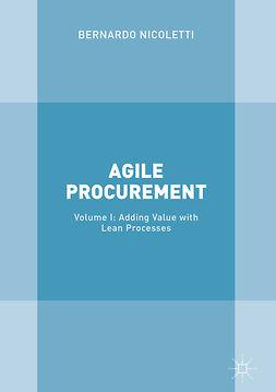 Nicoletti, Bernardo - Agile Procurement, ebook